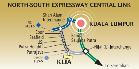 North South Expressway Central Link (ELITE)
