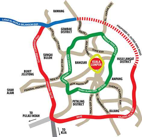 Overview of KL Highways