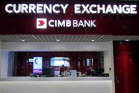 CIMB Bank Currency Exchange Counter at klia2