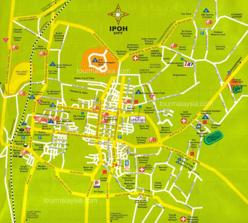 Ipoh travel overview