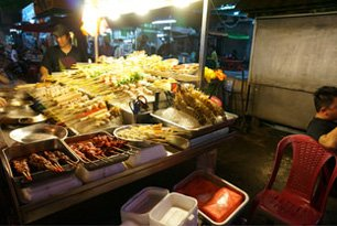Stall at Jalan Alor