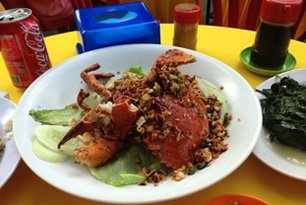 Food at Jalan Alor