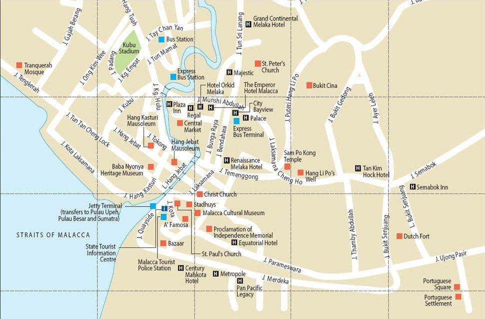 How To Go To Melaka Malaysia Airport Klia2 Info