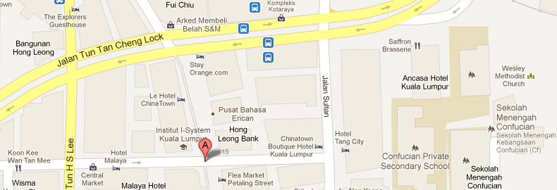 how to go to petaling street
