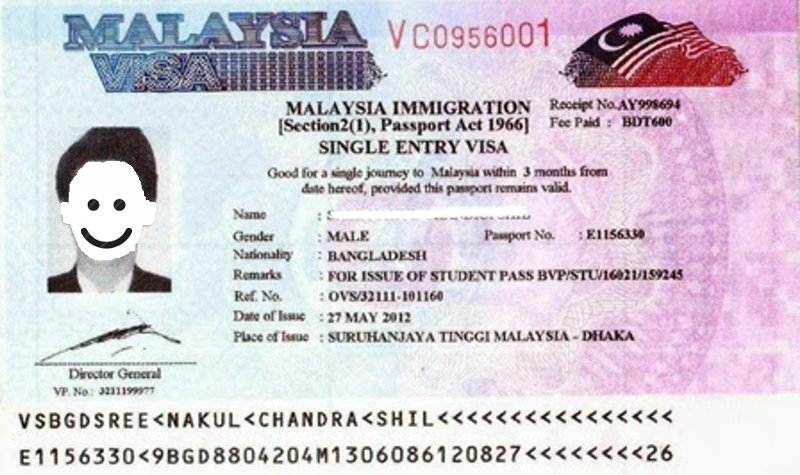 Single Entry Visa