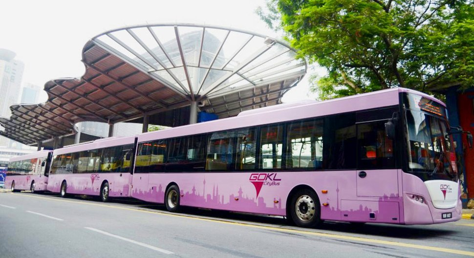Go KL City Bus near Pasar Seni station