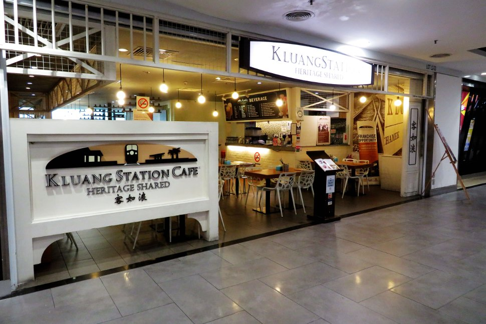 Kluang station cafe