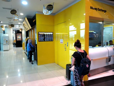 Maybank Currency Exchange at level 3 of Gateway@klia2 mall
