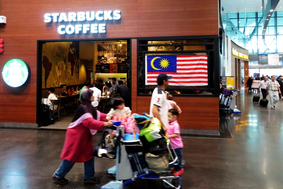 Starbucks Coffee at Gateway@klia2 mall