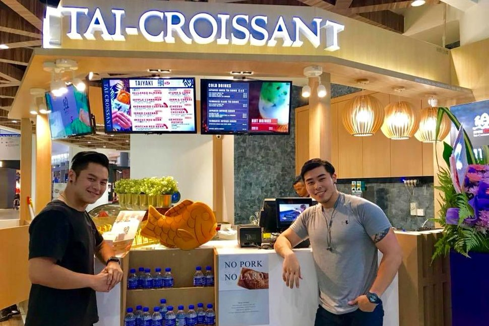 Tai Croissant at the klia2