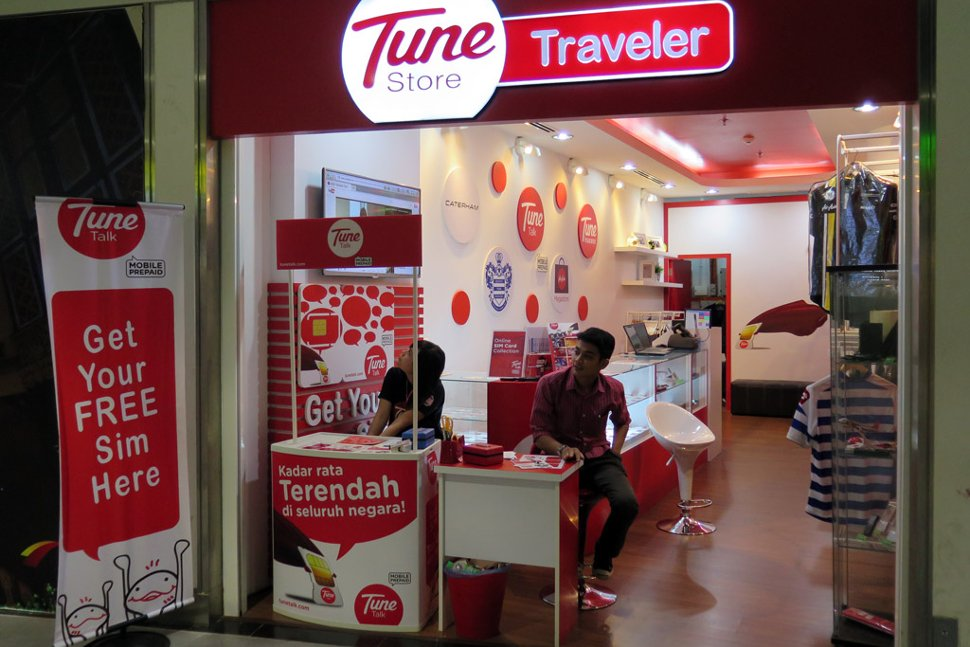 Tune store at its previous location