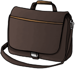 1 laptop bag