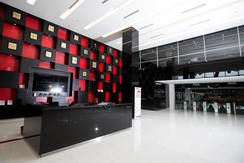 Reception Area, AirAsia RedQ