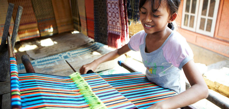 Sukarara Weaving Village, Lombok