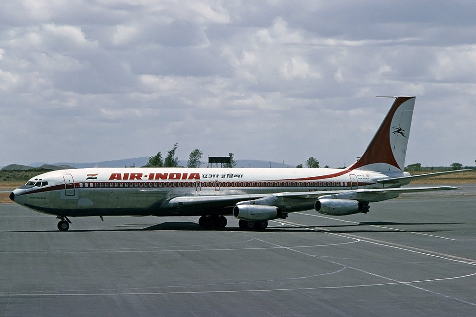 Air India became the first Asian carrier to induct a jet aircraft, with the Boeing 707–420