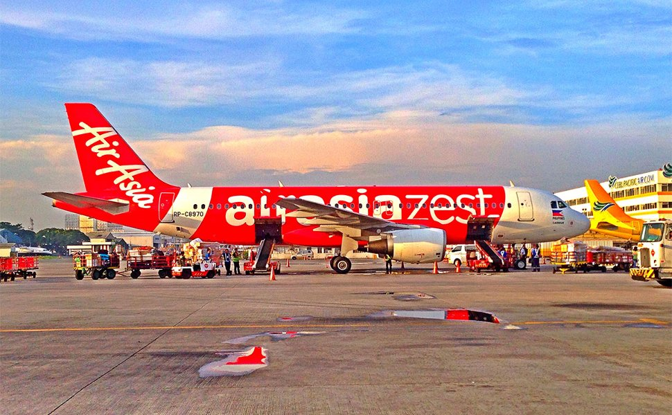 AirAsia Zest's flight