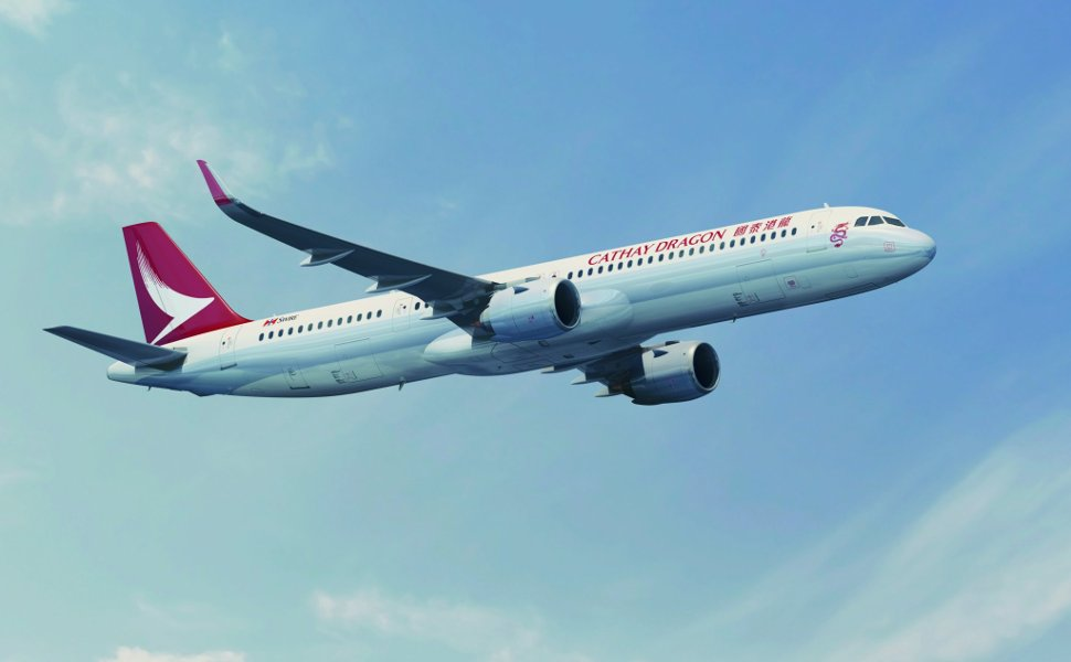 Cathay Dragon's flight