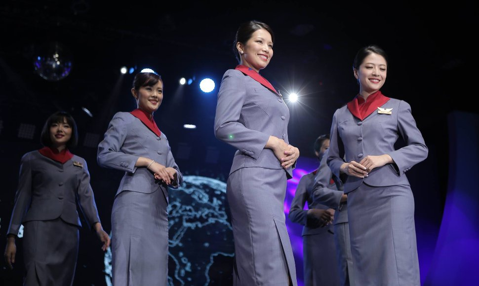 China Airlines new uniform for crew members