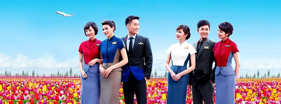 China Airlines welcomes you!