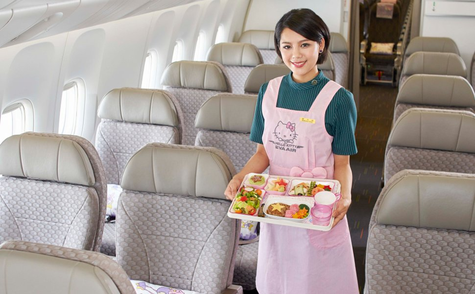 Eva Air welcomes you!