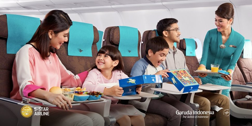 Relaxing trip with Garuda Indonesia