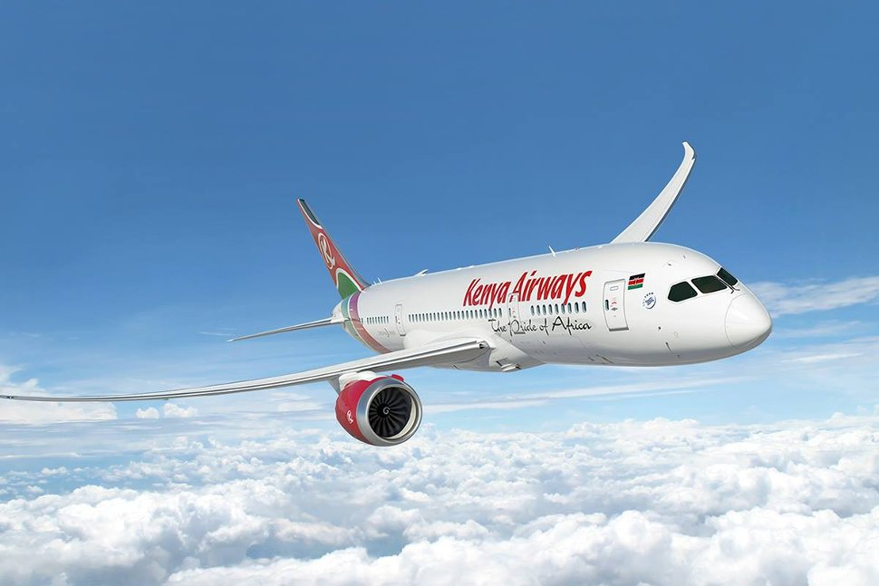 Kenya Airways - The pride of Africa