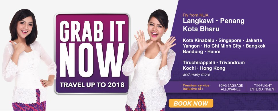 Fantastic Offer from Malindo Air