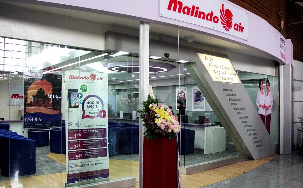Malindo Air's Ticketing Office at KL Sentral