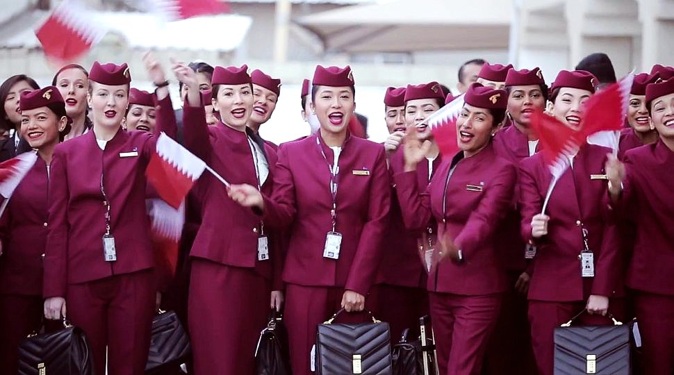 Qatar Airways welcomes you!
