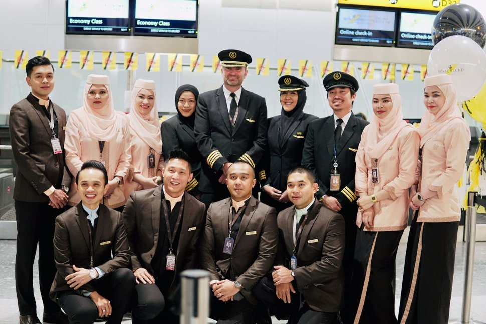 Royal Brunei Airlines welcomes you!