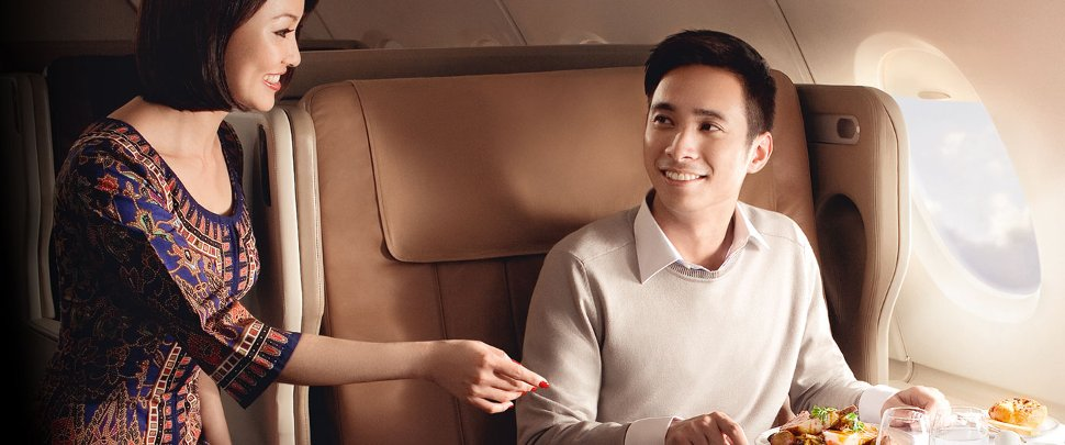 Singapore Airlines welcomes you!