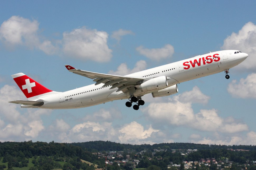 Swiss Airbus A330 in the current livery
