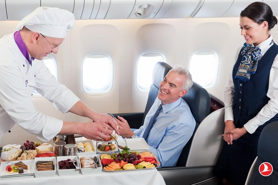 Turkish Airlines continues to bring you the most flavorful meals way up in the skies.