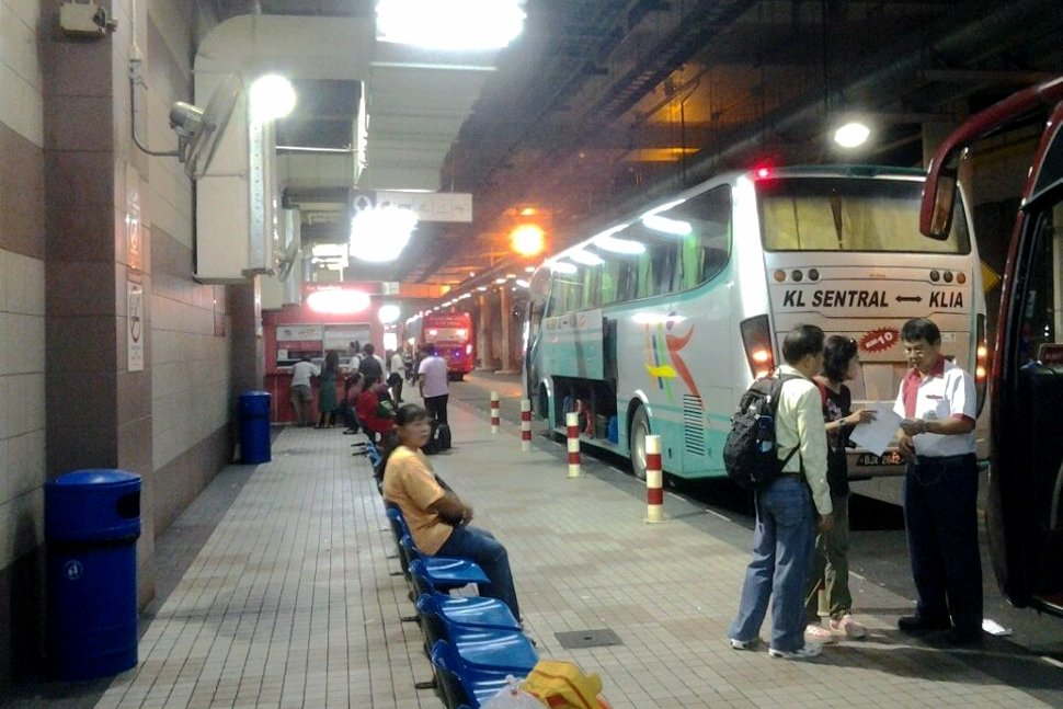 Airport Coach at the KL Sentral