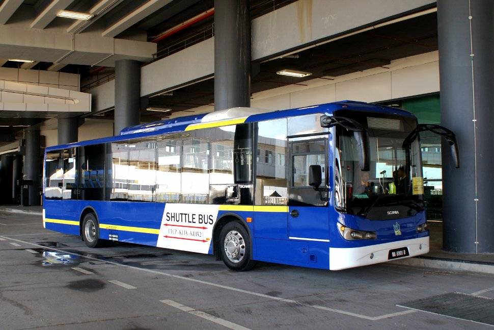 Free shuttle bus between KLIA, klia2 and LTCP