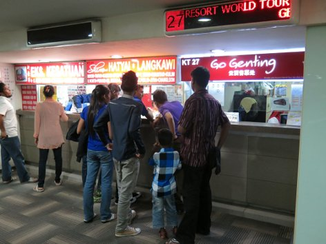 Go Genting bus ticket counters