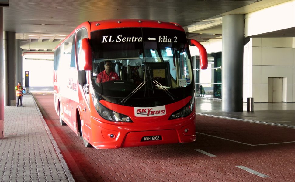 Skybus at the klia2 Transportation Hub