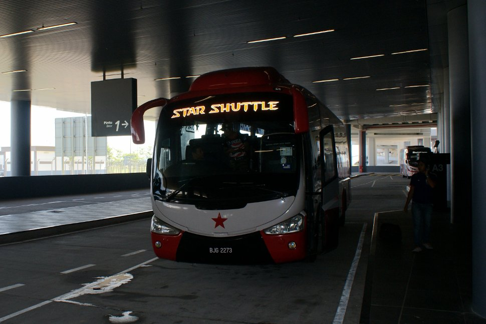 Star Shuttle at the klia2 Transportation Hub