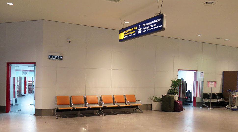 Baggage Enquiry Office at Baggage Reclaim area