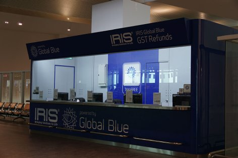IRIS Global Blue GST Refunds at Pier L