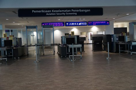 Security check facilities