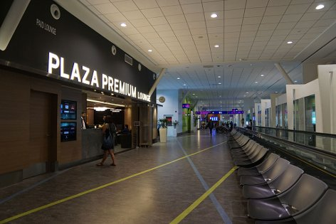 Plaza Premium Lounge near Gate L8