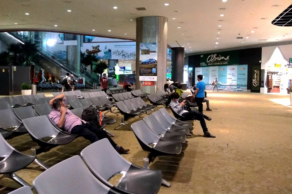 Waiting area on Level 2