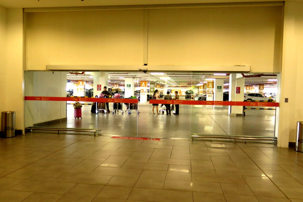 Exit from gateway@klia2 mall to car park A