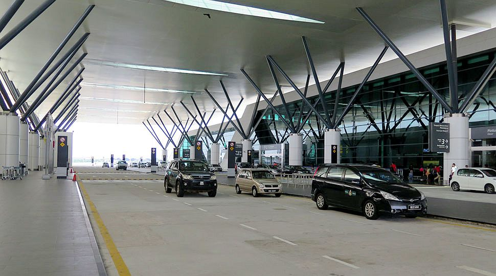 Valet parking facility at klia2 Level 3 Departures drop-off area