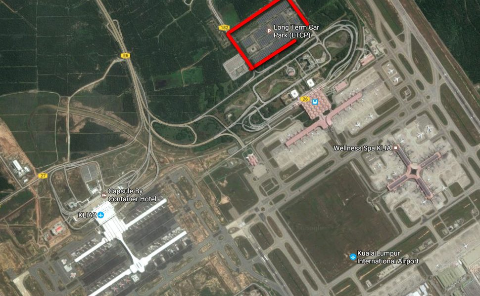 Long Term Car Parking facility for KLIA & klia2