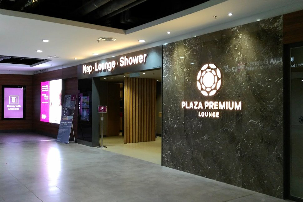 Plaza Premium Lounge at level 2M