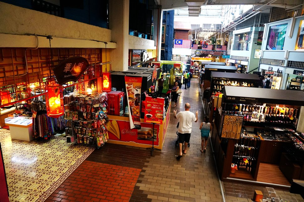 Central market is close to the Petaling Street