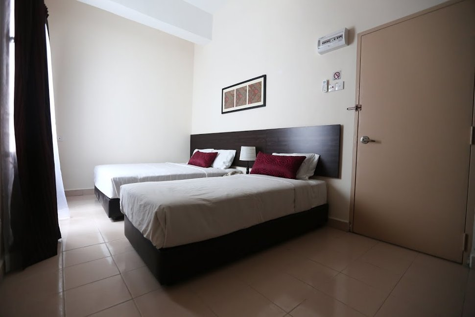 Family suite at Hotel Seri Raha