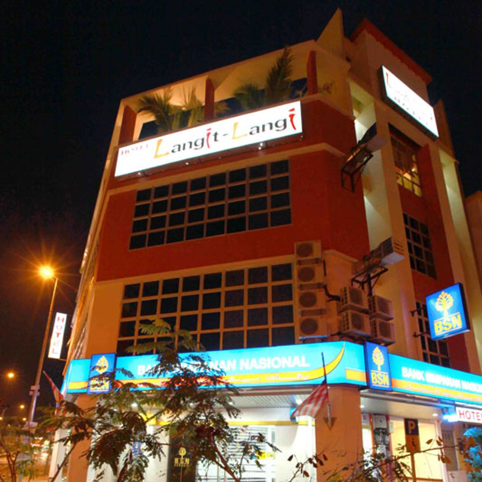 Evening view of the hotel